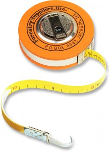 diameter tape for measuring trees
