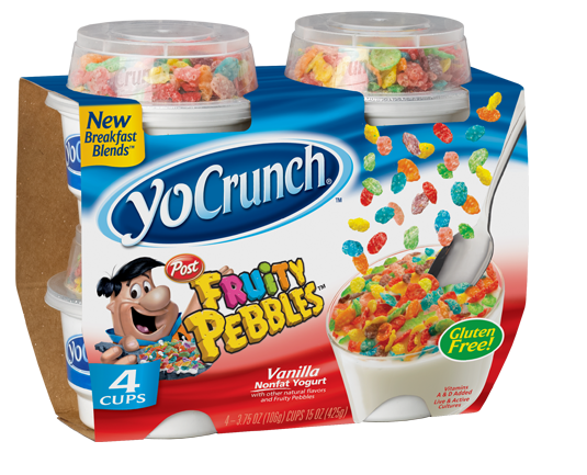 YoCrunch with Fruity Pebbles